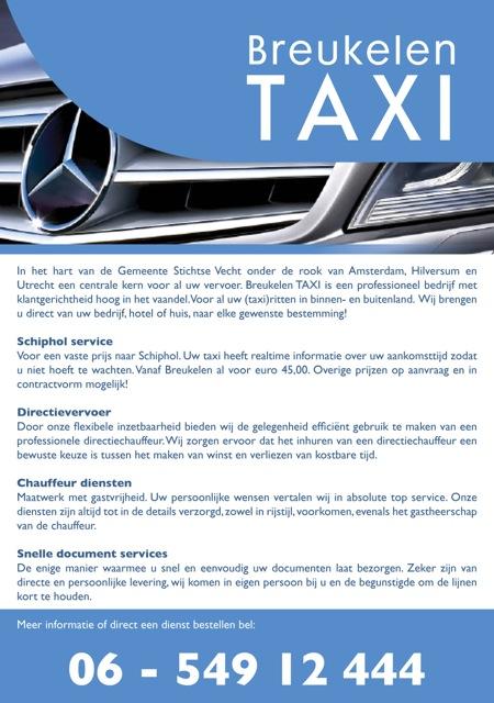 Taxi Breutax, Breukelen